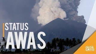 Download Video Lahar Dingin dan Awan Panas Ancaman Erupsi Gunung Agung! MP3 3GP MP4