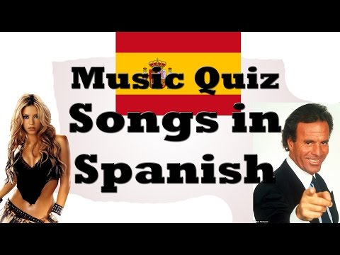 Music Quiz - Songs in Spanish