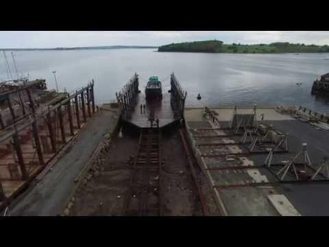 Barge Dock, 1200-ton Slipway