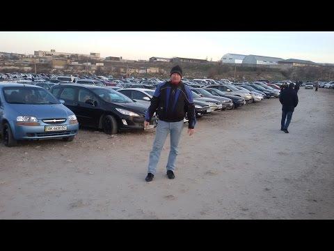 Авто рынок в Симферополе. Крым 20.03.2016.
