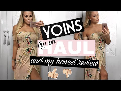 YOINS TRY ON HAUL | IS IT A SCAM? & MY SHOPPING EXPERIENCE