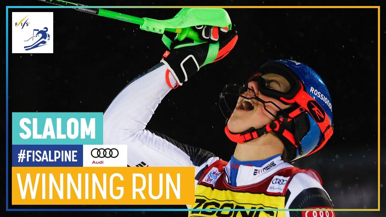 Petra Vlhova Wins First Slalom of the Season in Levi