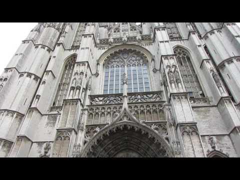 Концерт духового оркестра в Антверпене (Бельгия)