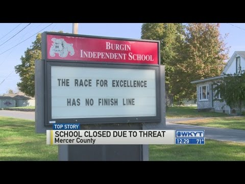 Burgin Independent School closed Thursday after threat found on bathroom wall
