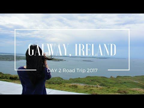 GALWAY, IRELAND| Road Trip DAY 2| Travel vlog| 26.5.2017