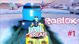 ROBLOX JAILBREAK Escape From prison, we are looking for train and driver