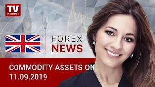 InstaForex tv news: 11.09.2019: Oil prices resume rally while ruble needs more growth drivers (Brent, USD/RUB)