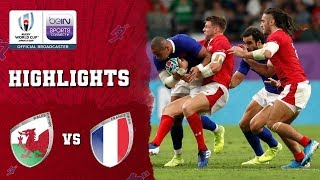 Wales 20-19 France   Rugby World Cup 2019 Match Highlights