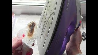 видео Чистка подошвы и резервуара утюга в домашних условиях