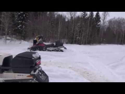 Tundra Xtreme 600 E-tec Hard deep snow
