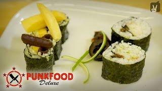 Sushi selber machen: Fast Food von Punkfood Deluxe!