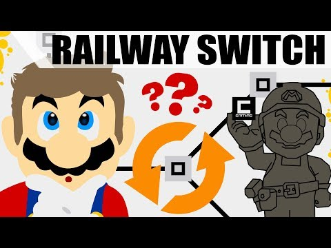How to Recreate Railway Switches in Super Mario Maker!