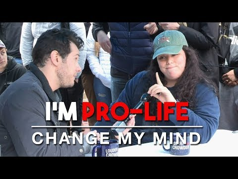 I'm Pro-Life (3rd Edition) | Change My Mind