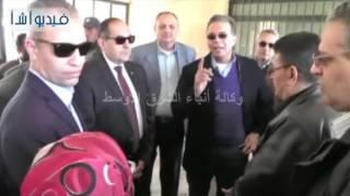 وزير النقل يتفقد أعمال تجديد وتطوير محطة سكة حديد مركز المنشاة بسوهاج