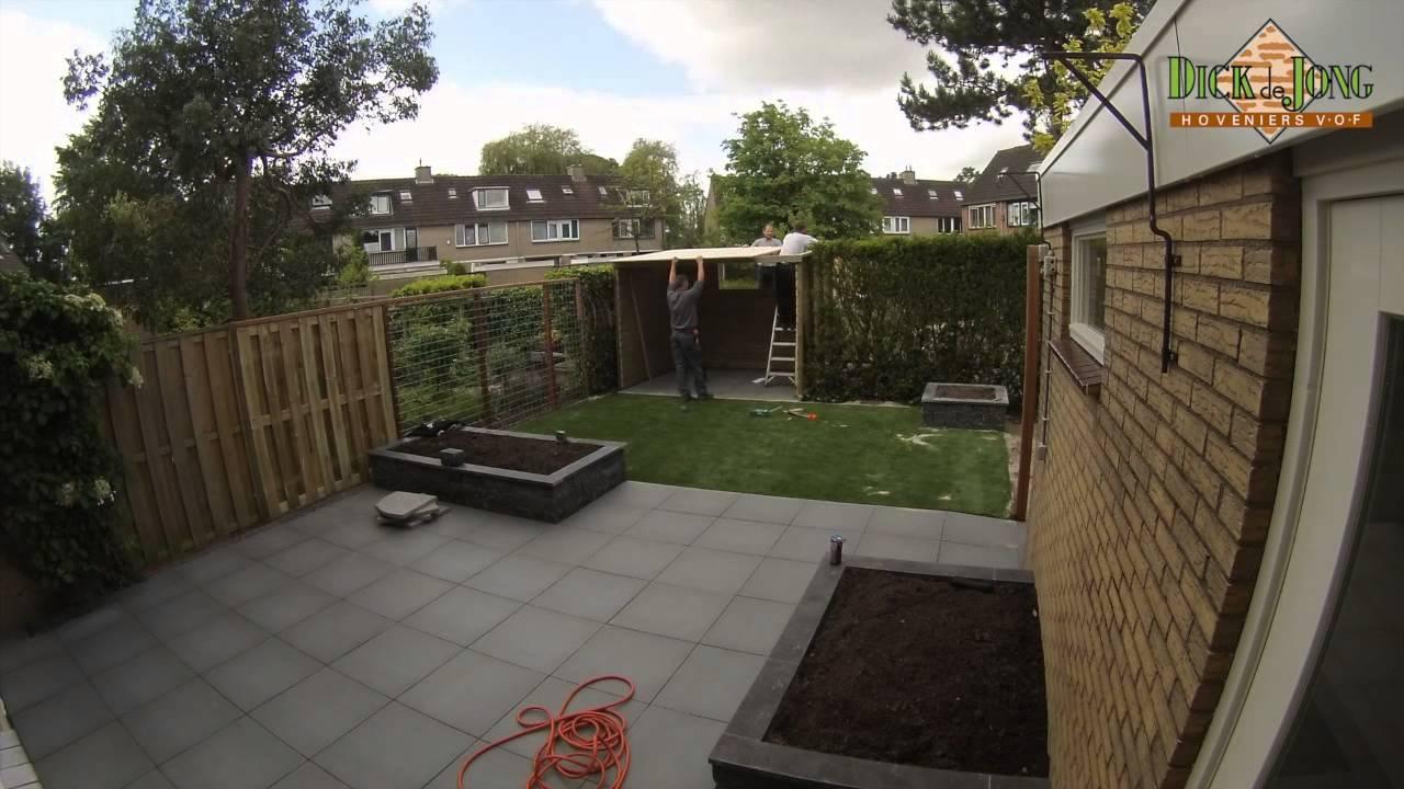 Kindvriendelijke Tuin Ideeen : Aanleg van een kindvriendelijke tuin youtube