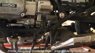 Honda GL1200 Goldwing Engine Removal
