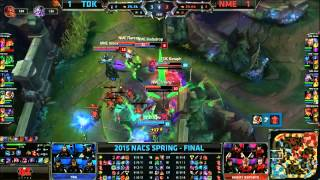TDK (Kez Zac) VS NME (Innox Kassadin) Game 3 Highlights - 2015 NA CS Spring Final