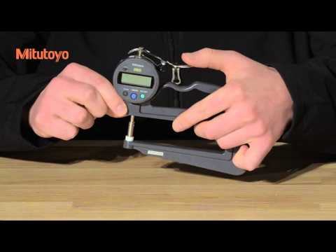 Mitutoyo: Check Points for Measuring Instruments - Thickness Gage