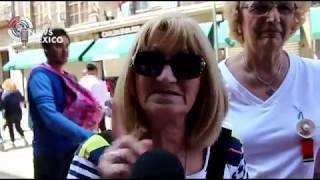 Earthquake Mexico, tourist feel scary with experience; los turistas sorprendidos por el terremoto