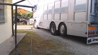 Scania R580 Zilio V8 Sound