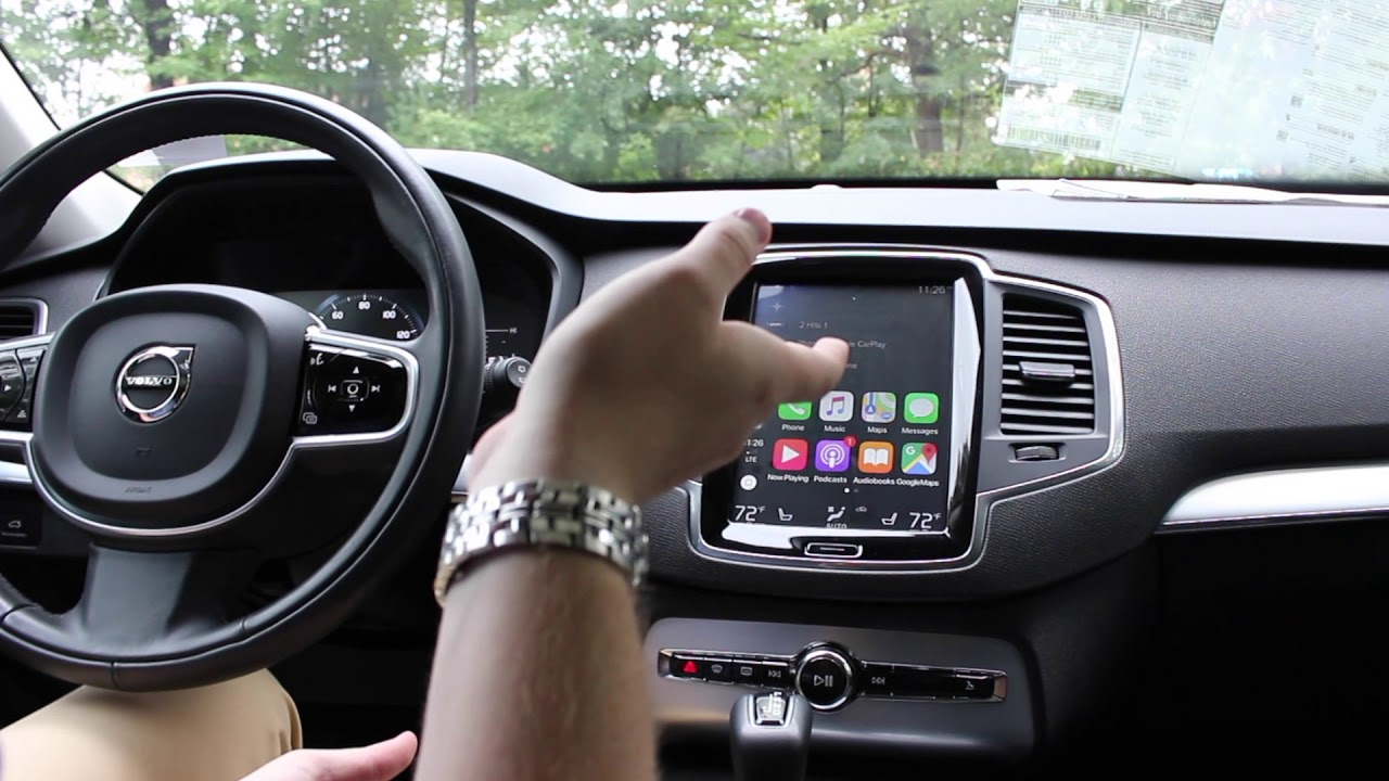 Apple CarPlay Updates Effecting the 2019 Volvo Model Line Up - New in 2018