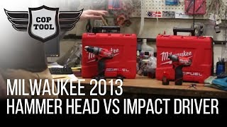 Milwaukee M12 Fuel 2404-22 Hammer Drill vs 2453-22 Impact Driver