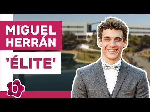 """Miguel Herrán de 'Elite': """"A mí no me van los tríos ni la fiesta como a Cristian"""""""