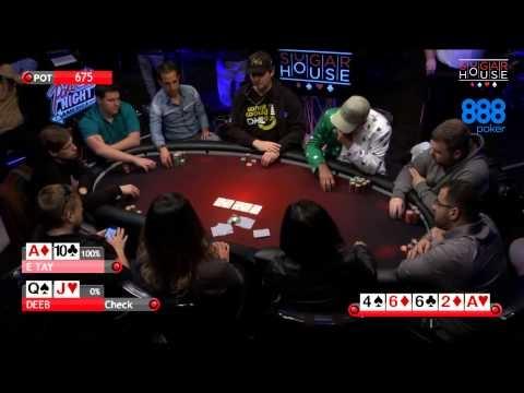 Poker Night In America | Cash Game | Sugar House Casino – Philadelphia, PA (3/4)