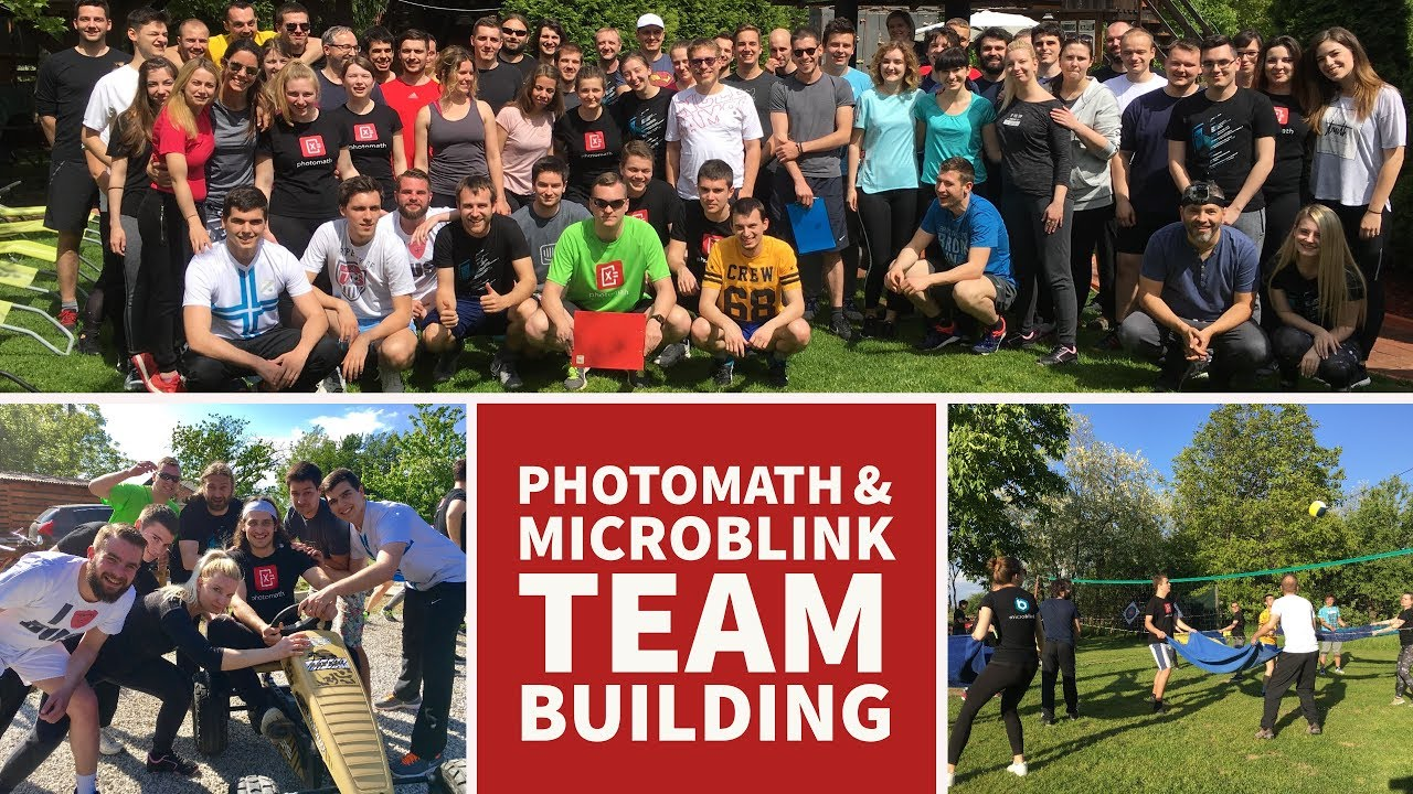 Photomath & Microblink Team Building