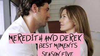 Meredith & Derek Best Moments Season 5