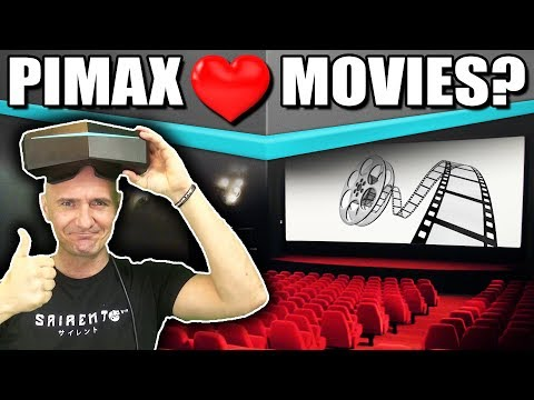 Pimax 8K or 5K+ For Watching Movies & Videos? 3D Blu-Ray, SBS, 360 and VR Adult entertainment tested