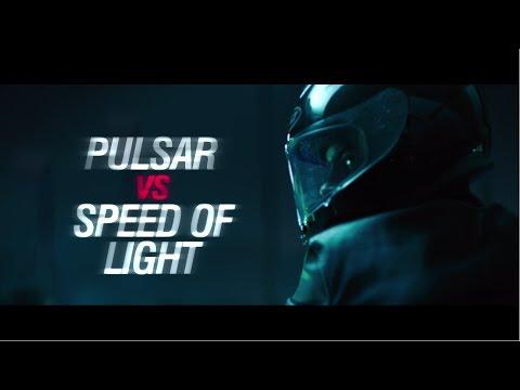 Pulsar V/s Speed of light - TVC