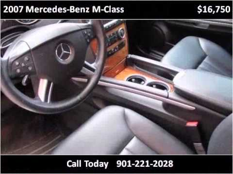 2007 mercedes-benz m-class used cars olive branch ms - youtube