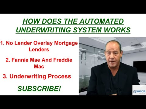 How Does The Automated Underwriting System Work