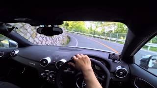 Audi S1 - winding road POV test drive