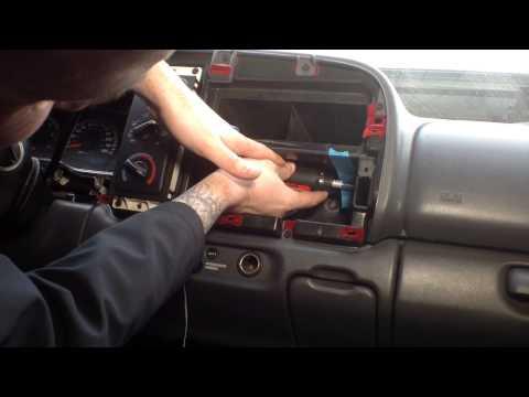 1998 Dodge Dakota R/T Double Din Install Part I