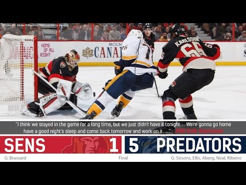 Nov 17: Sens vs. Predators - Post-game Media