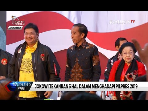 Ini 3 Hal Yang Ditekankan Jokowi Untuk Raih Suara Di Pilpres 2019