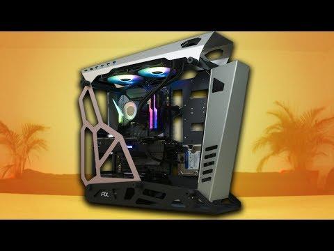 Armando PC en el Raidmax X08 con 2080TI e i7 8700
