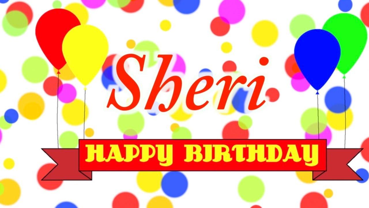 Happy Birthday Sheri Song