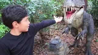 Trailer Uma Aventura com os Dinossauros
