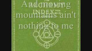 Thrice - Moving Mountains (lyrics)