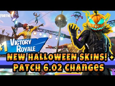 New Fortnite Skins! And All Patch Notes For 6.02 Fortnite Battle Royale Patch Updates