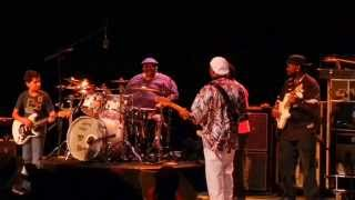 Outro Jam - Buddy Guy & Jonny Lang & Quinn Sullivan & Ray Goren - Greek Theater - LA - Aug 7 2012