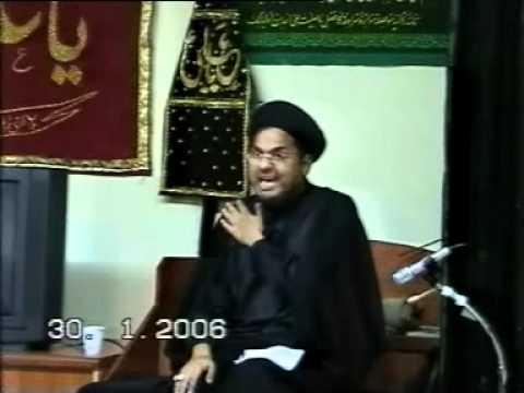 MOULANA SYED ABUL QASIM RAZVI  IN MELB.AUSTRALIA-(MOHARAM AASHRA) 2006 CHAND RAAT  MAJLIS 1 PART 4