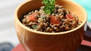 Cold Lentil Salad Recipe - Recette Salade Froide De Lentilles - Recettes Maroc