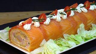Receta Tronco salado especial para Navidad - Recetas de cocina, paso a paso, tutorial