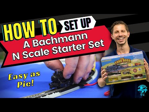 How To Set Up Your Bachmann N Scale Starter Train Set