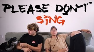 Please Don't Sing (Lyric Video)