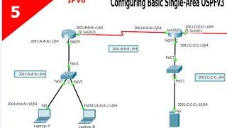 configuration du protocole OSPFv3 pour IPv6 En darija leçon 5